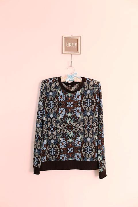 Blusa (azul sempre ganha meu coração) | R$ 44,90