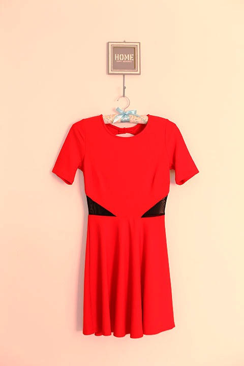 Vestido laranja (look cenourinha . Rs ) | R$ 57,90