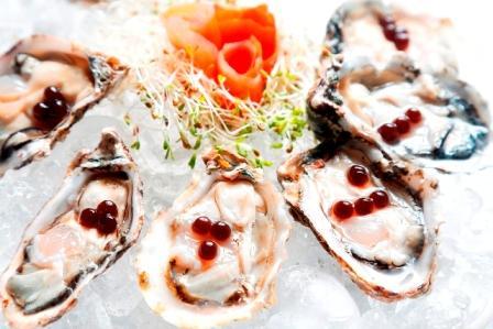 Peixaria Ostras com pérolas e azeite balsâmico - Foto Camilla Maia