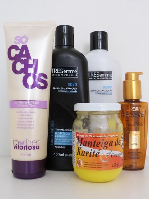 Shampoos e  Cremes
